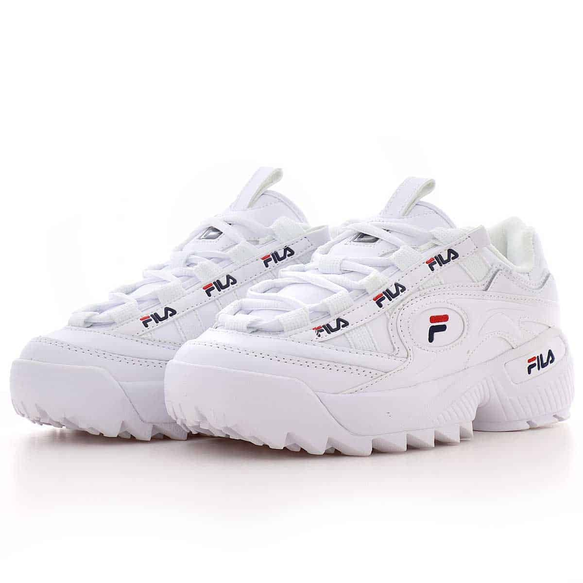 Fila D FORMATION White